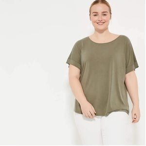 NWT Pennington's in every story olive tshirt (4x)